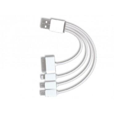 Câble USB avec adaptateurs...